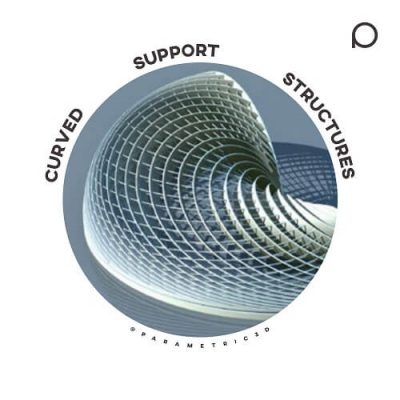 Curved Support Structures