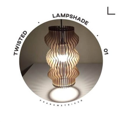 Twisted Lampshade 01 - Parametric Design