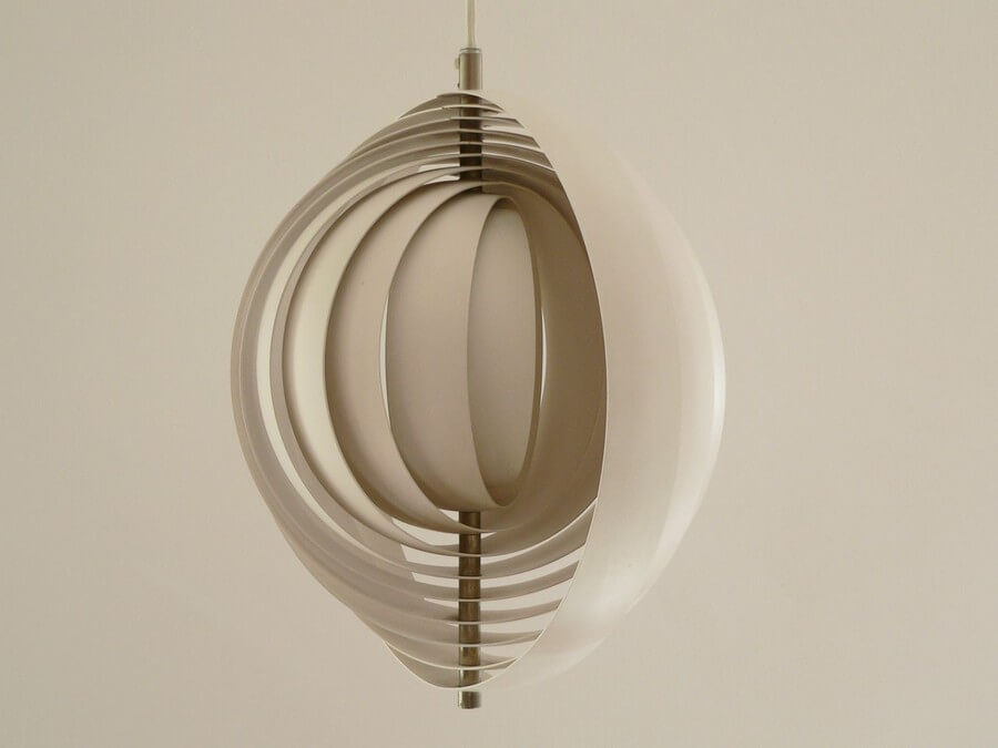 Wooden Pendant Lamp #3 - Laser Cutting Designs & Ideas
