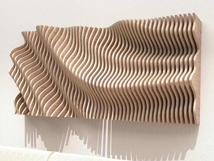 Wooden Wall Art #1 - Laser Cutting Designs & Ideas