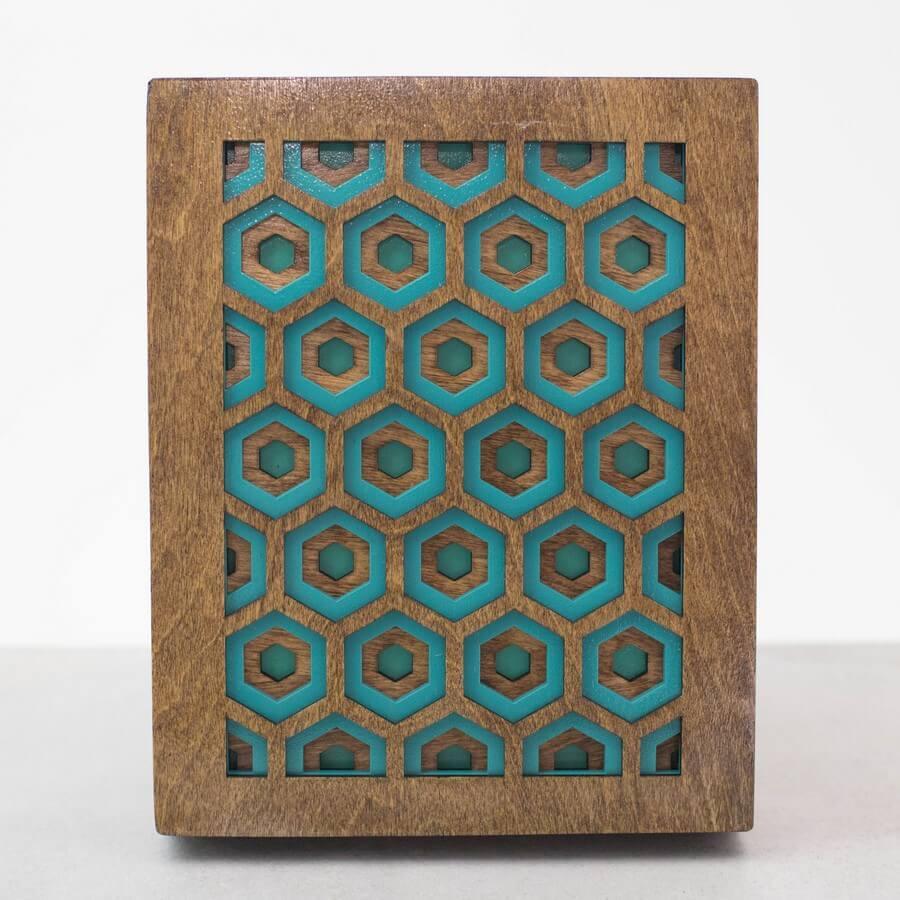 Wooden Wall Art #2 - Laser Cutting Designs & Ideas