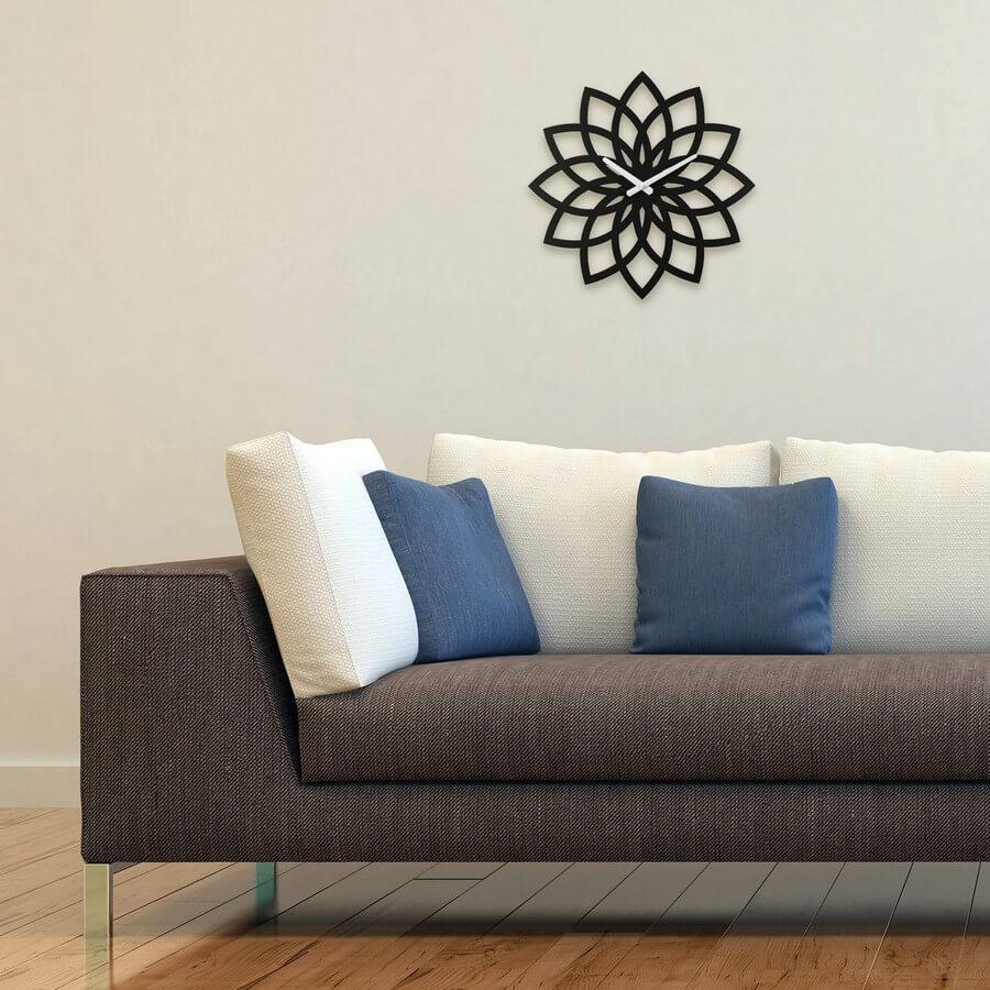 Wooden Clock #5 - Laser Cutting Designs & Ideas