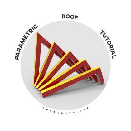 Parametric Roof grasshopper tutorial