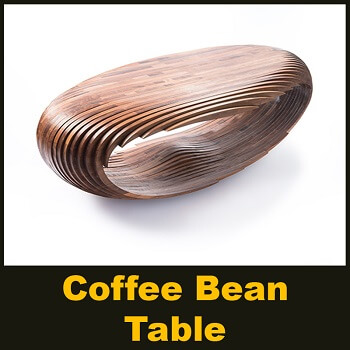 Coffee Bean Table