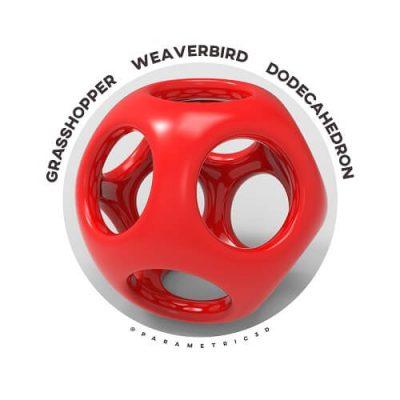 Grasshopper Weaverbird Dodecahedron