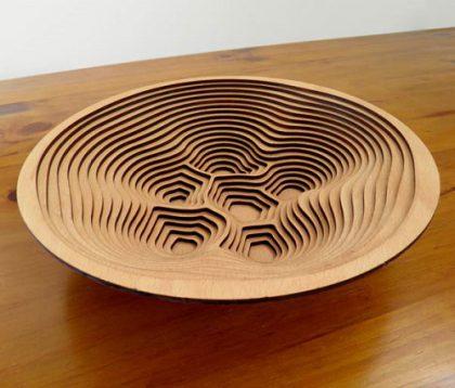 Wooden Kitchen Accessories #1: Laser Cutting Designs & Ideas