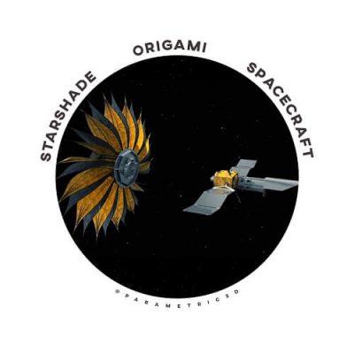 StarShade Origami Spacecraft