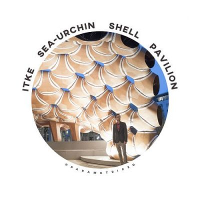 Sea-Urchin Shell Pavilion