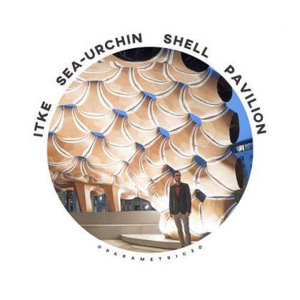 Sea-Urchin Shell Pavilion