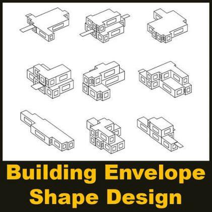 Building Envelope Shape Design