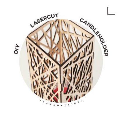 DIY Laser Cut CandleHolder - Laser Cut Design