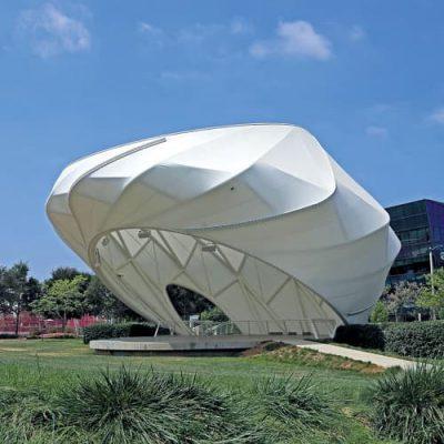 Architecture Design #1 - Cable Tensile Structure