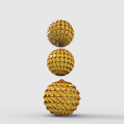 Sphere Triangular Paneling