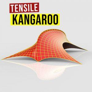 Tensile Kangaroo Grasshopper3d