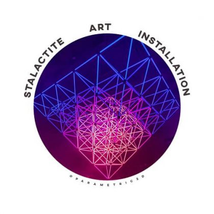 Stalactite Installation Art