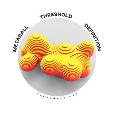 Metaball Threshold Grasshopper Definition