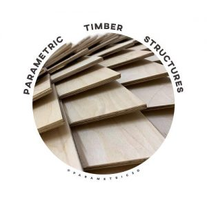 Parametric Timber Shell Structures