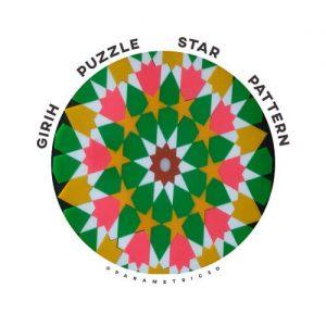 GIRIH Puzzle Star Pattern