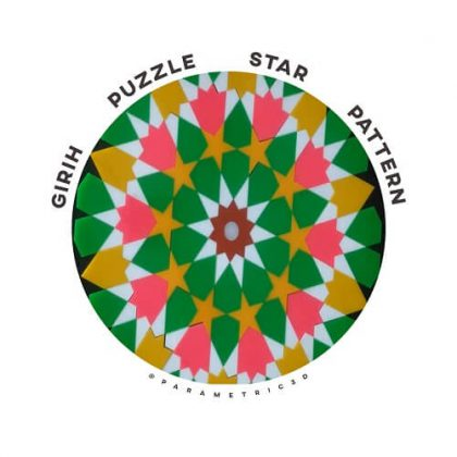 GIRIH Puzzle Star Pattern