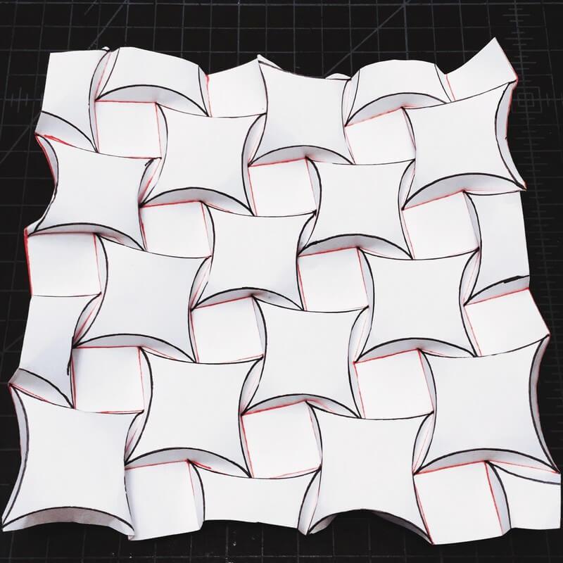 Ron Resch Tessellation