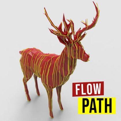 Flow Path Grasshopper3d Parakeet plugin