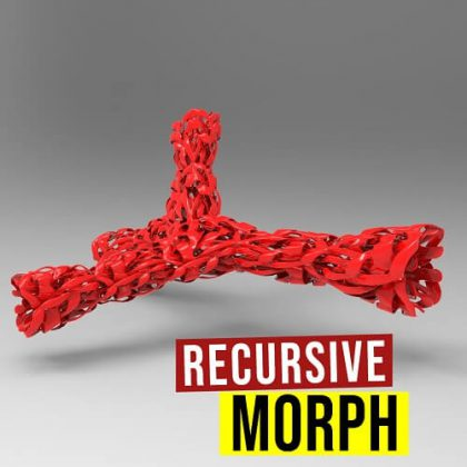 Recursive Morph grasshopper3d pufferfish plugin
