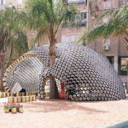 Bat-yam Cans Pavilion