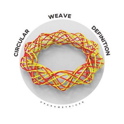 Circular Weave Grasshopper Definition