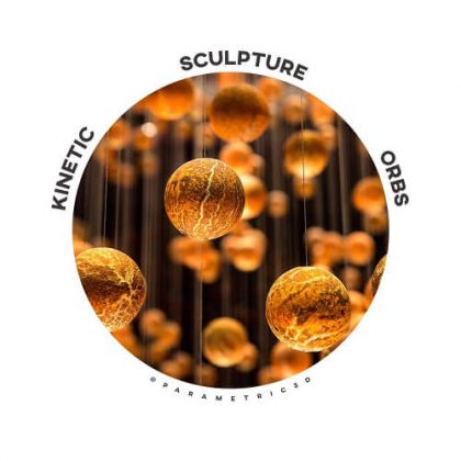 Kinetic Sculpture Orbs