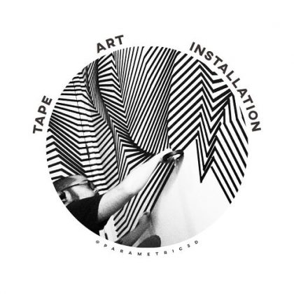Tape Art Installation