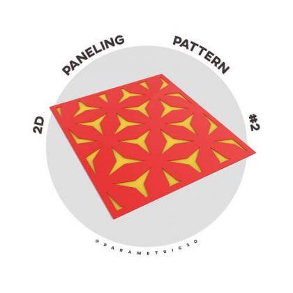 2D Paneling Pattern #2
