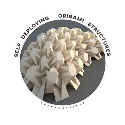 Self-Deploying Origami