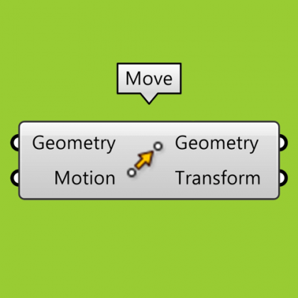 Move Component Grasshopper Tutorial