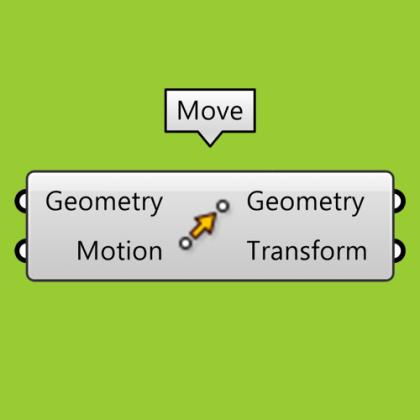 Move Component Grasshopper Tutorial