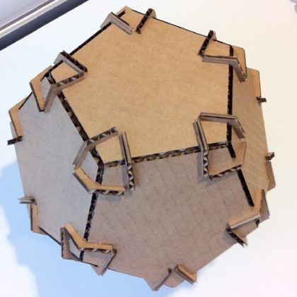 Pressure Fit Dodecahedron