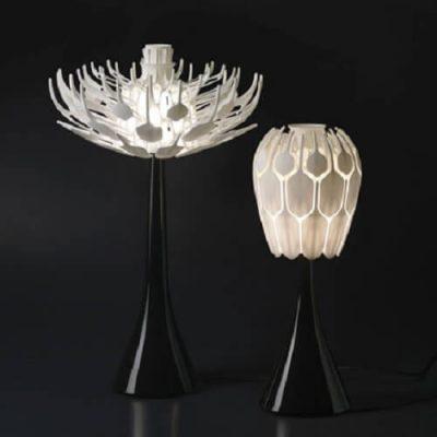 3D Printed Bloom Lamp