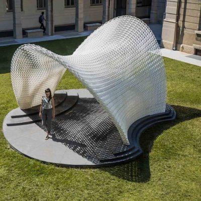 Trabeculae 3D Printed Pavilion