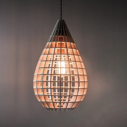 Tear Parametric Pendant Lamp