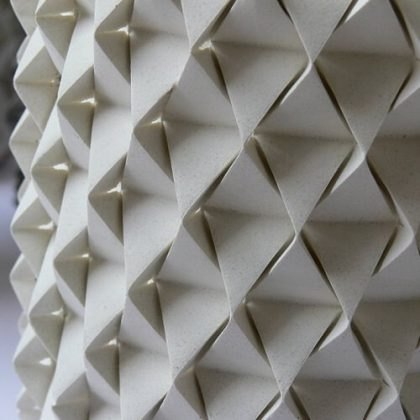 Palmas Origami Vase