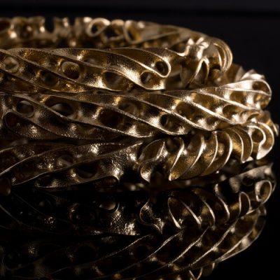 Porifera 3D Printed Jewelry