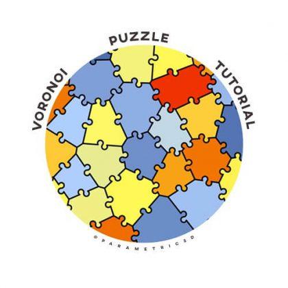 Voronoi Puzzle Grasshopper Tutorial