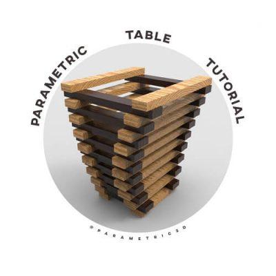 Parametric Table Rhino Grasshopper Tutorial