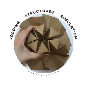The Use of Simulation for Creating Folding Structures