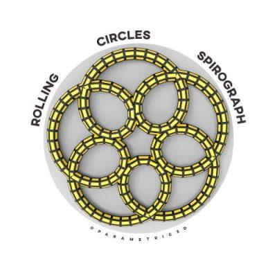 Rolling Circles Spirograph Grasshopper3d Definition