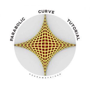 Parabolic Curve Grasshopper3d Tutorial