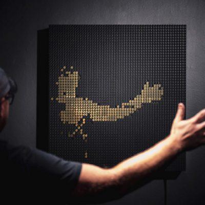 Echo Interactive Kinetic Art Installation