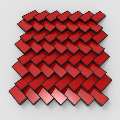 3D Wall Pattern #1 Grasshopper3d Definition
