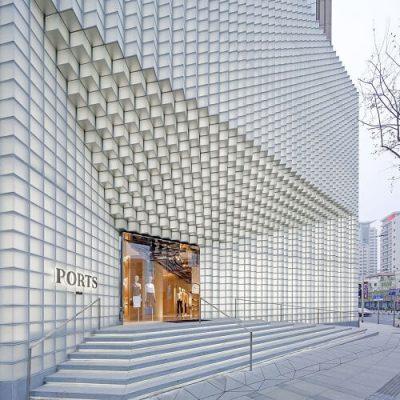 Shanghai Boutique Parametric Facade
