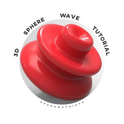 3d Sphere Wave Grasshopper3d Tutorial