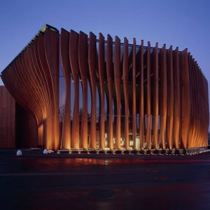 Mercury Theatre Parametric Facade
